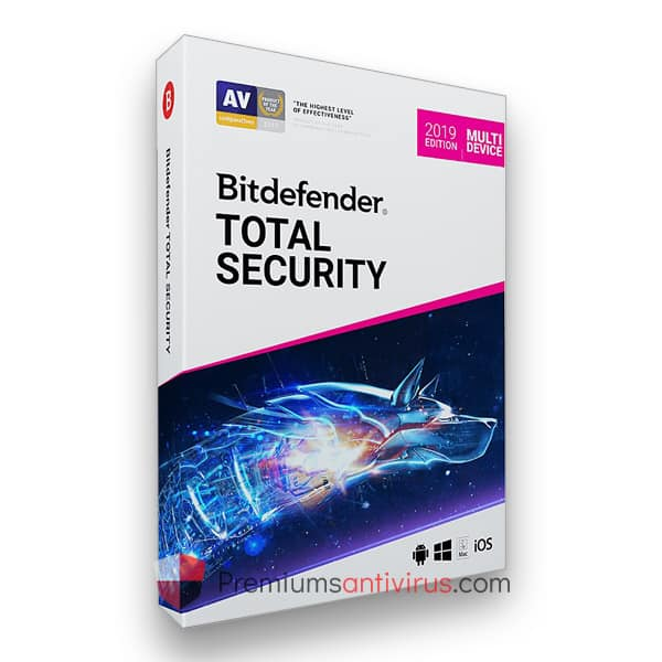 Bitdefender Total Security – 1 Device 1 Year